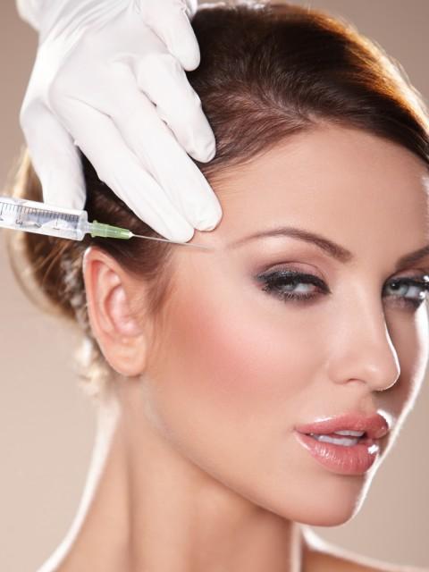 botox in side head